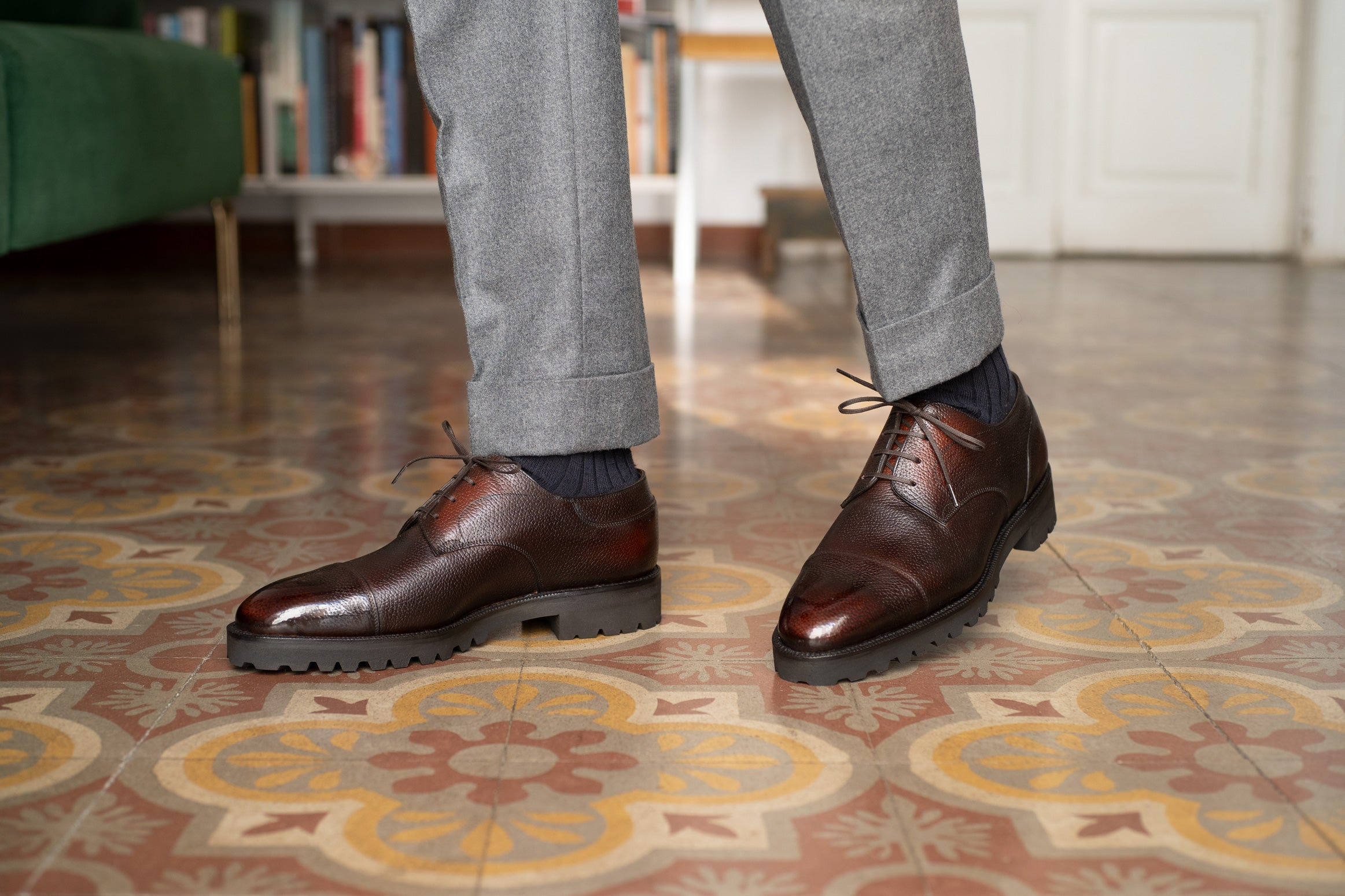 Frank Cap Toe Derby by Norman Vilalta Bespoke Shoemakers