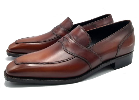 Penny loafer goodyear welted and made in Spain