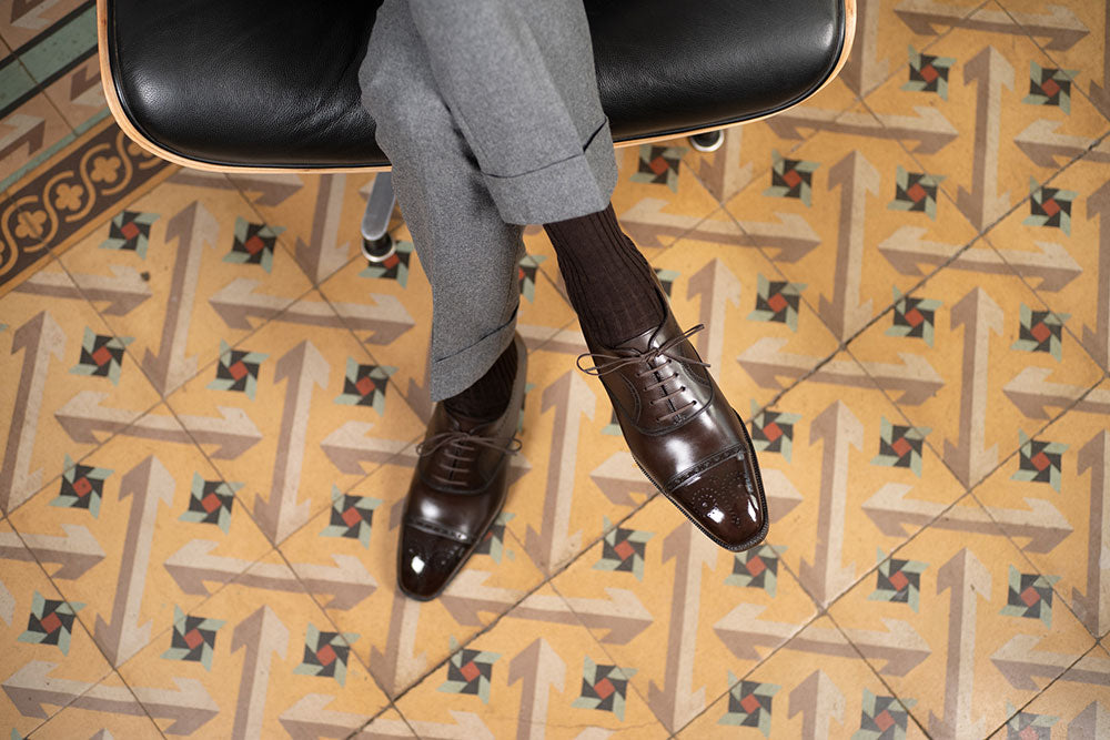 Madoz Medallion Oxford by Norman Vilalta Bespoke Shoemakers