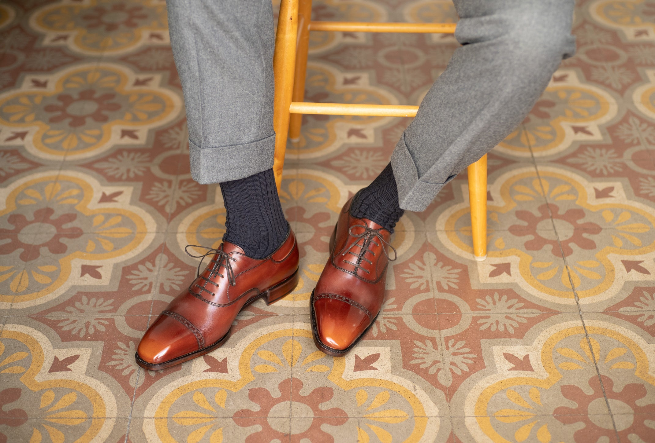 Mario Oxford by Norman Vilalta Bespoke Shoemakers
