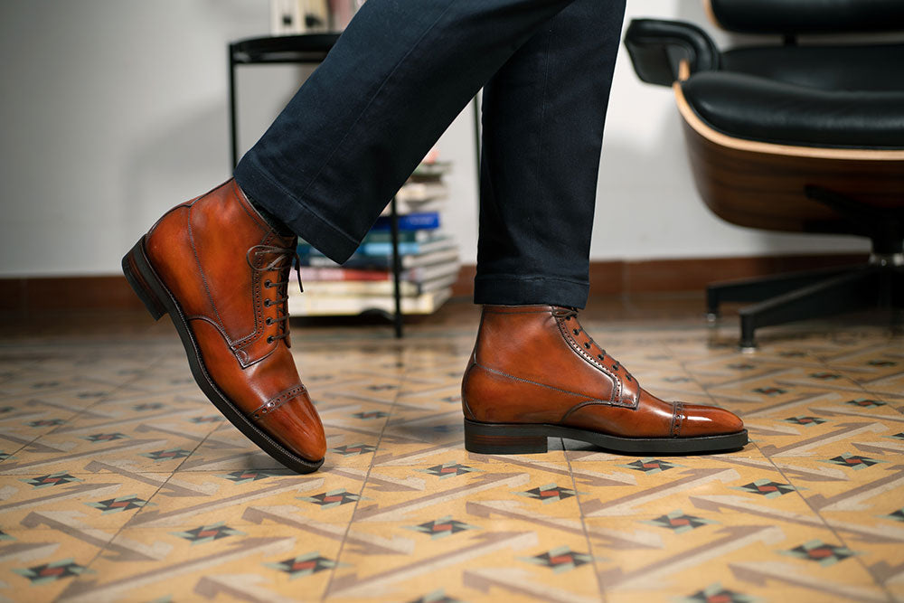 Brossa Boot by Norman Vilalta Bespoke Shoemakers