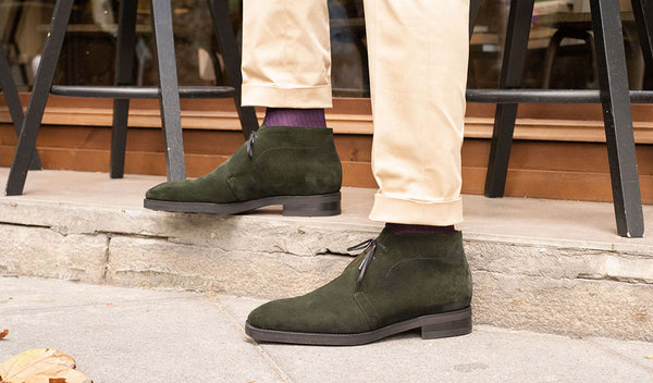 Chukka Boot made in Spain by Norman Vilalta
