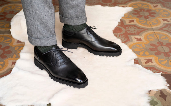 Oxford Simple Shoe by Norman Vilalta Bespoke Shoemakers