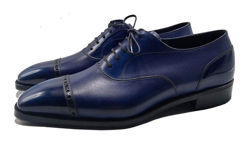 Norman Vilalta made-to-order Cap Toe Oxford men's shoe, made in Spain
