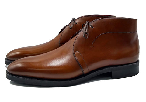 Norman Vilalta made-to-order Chukka Boot in box calf leather from Tanneries du Puy and made in Spain