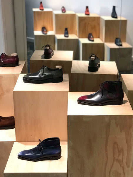 Norman Vilalta Men´s Shoes Store in Barcelona Spain
