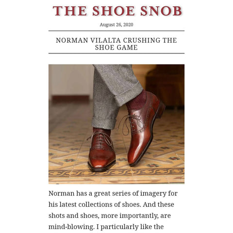 Norman Vilalta review by The Shoe Snob