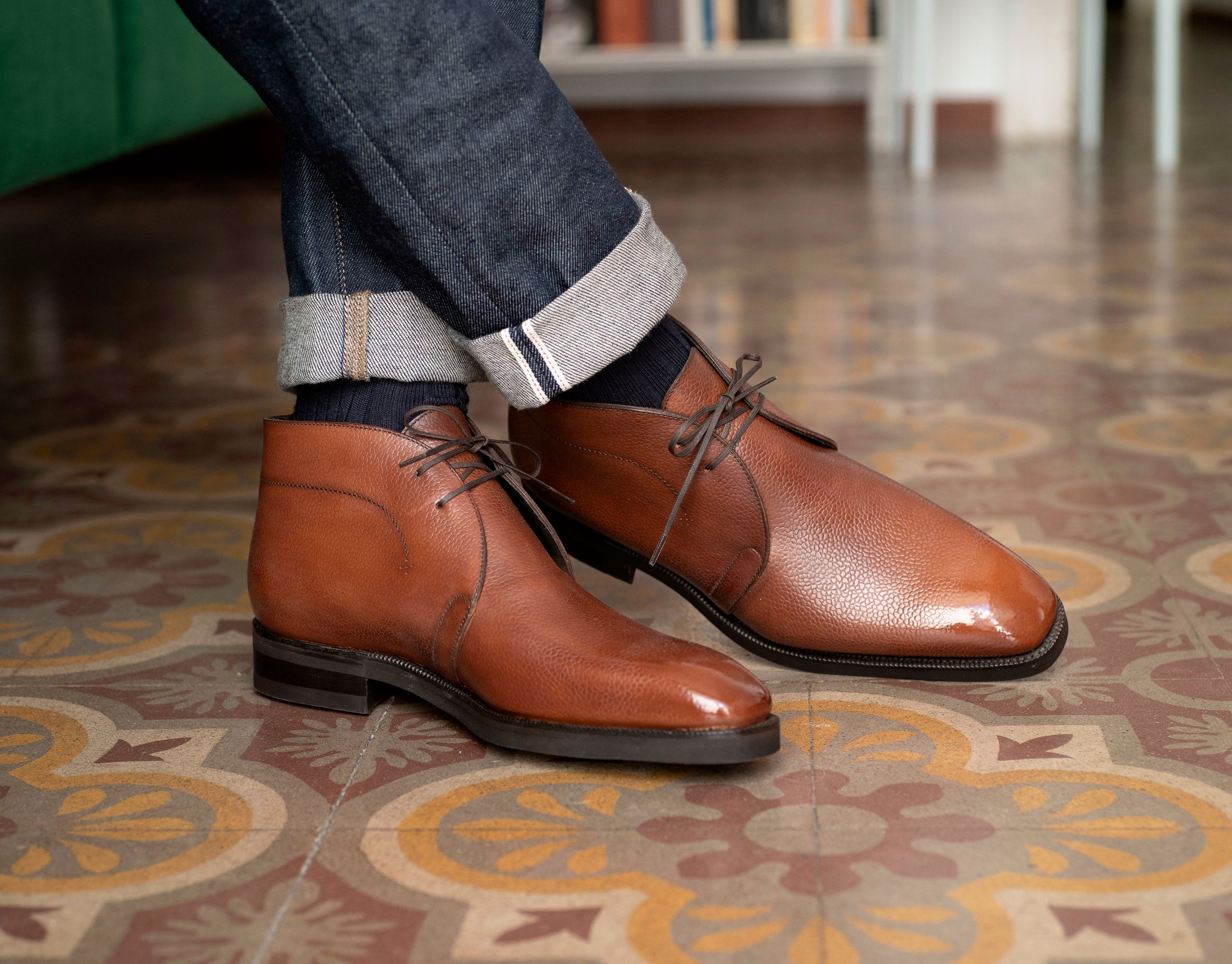 Robert Chukka Boot by Norman Vilalta Bespoke Shoemakers
