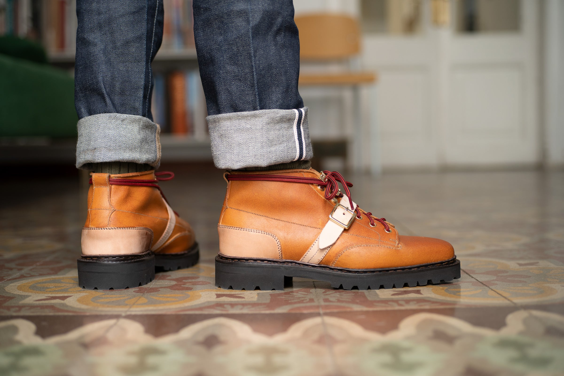 Sean Norwegian Welted Mountain Boot by Norman Vilalta Bespoke Shoemakers