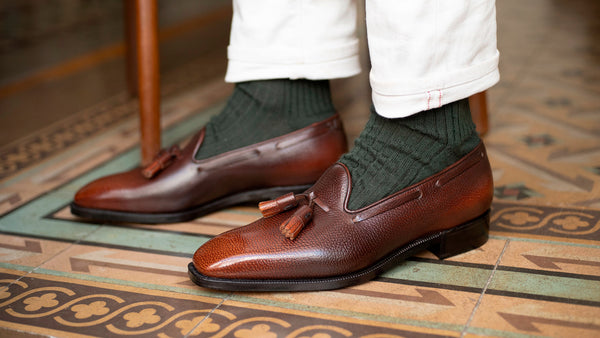 Chiseled toe Tassel Loafer by Norman Vilalta