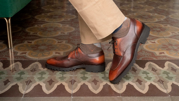 U-tip Derby by Norman Vilalta Bespoke Shoemakers