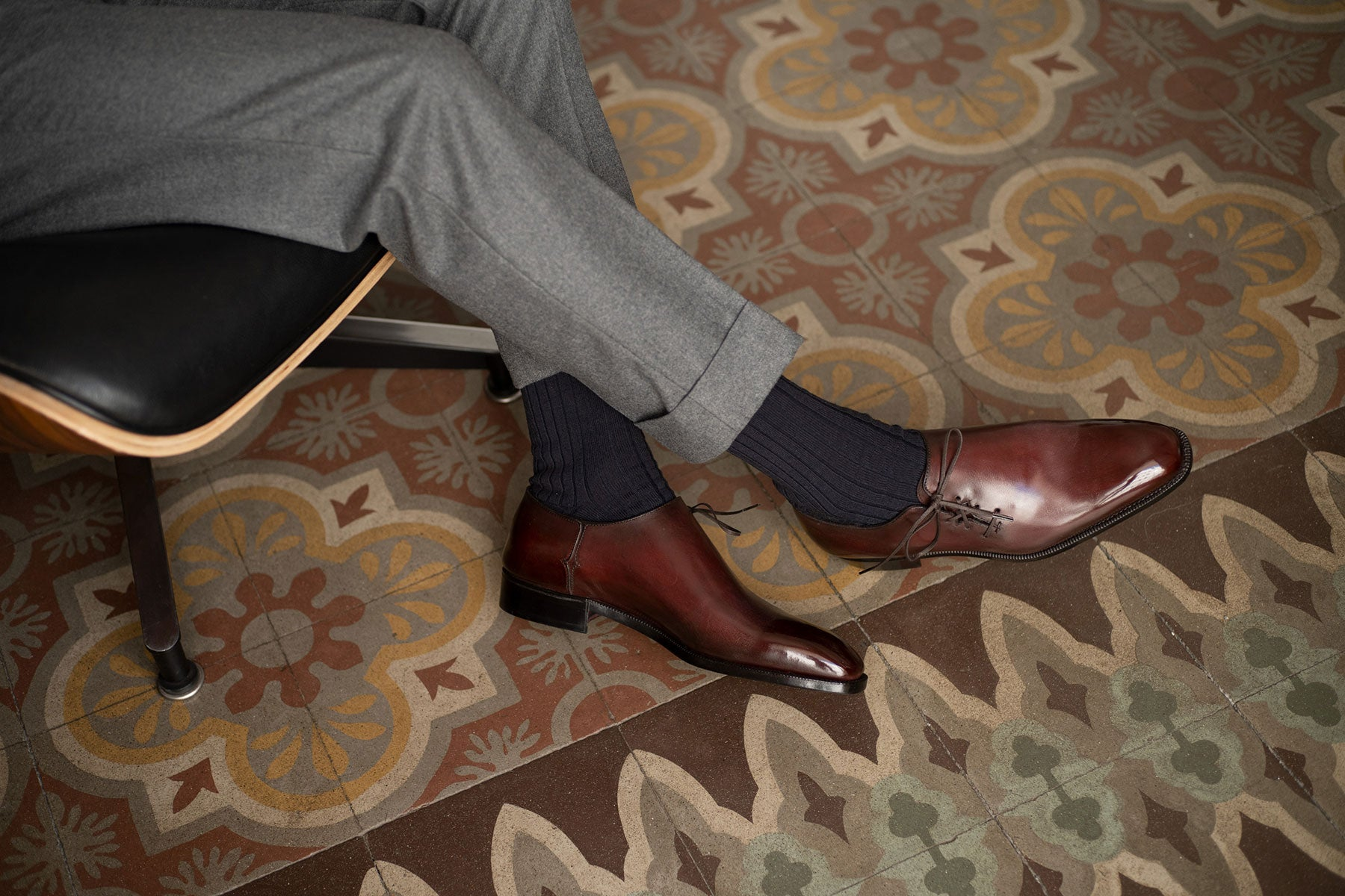 Wholecut oxford by Norman Vilalta Bespoke Shoemakers