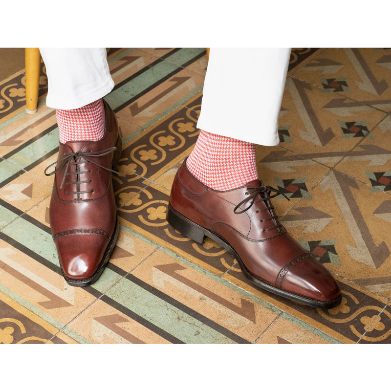 Cap Toe Oxford Shoe by Norman Vilalta