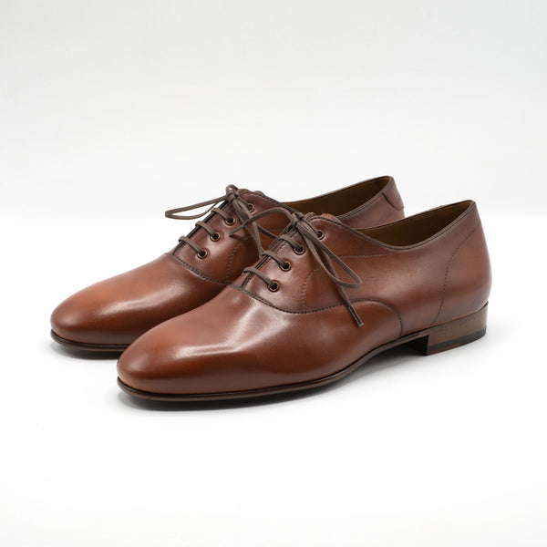 Salvador Oxford - Cognac Semi Unlined