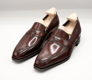 Penny Loafer - Dark Mahogany Brown