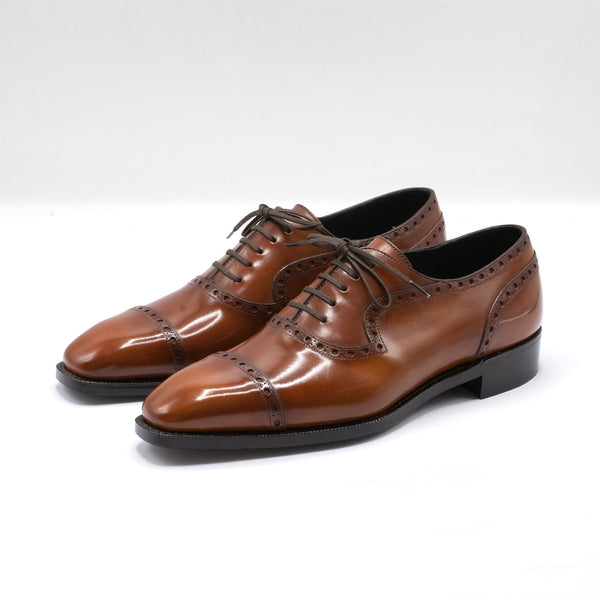 Adelaide Full Brogue - Medium Brown