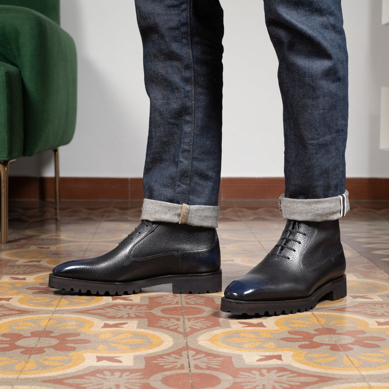 Antonio Balmoral Boot by Norman Vilalta Bespoke Shoemakers