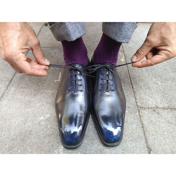 Balmoral Oxford Shoe (Made-to-Order) - Orion Patina
