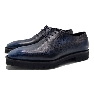 Mens leather balmoral oxford shoes made in Spain