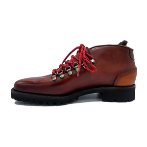 Borcego Mountain Boot (Made-to-Order) - Cognac
