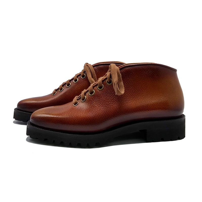 Borcego City Boot (Made-to-Order) - 3D Patina Cognac