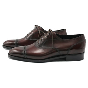 Men's leather oxford shoes made in Spain