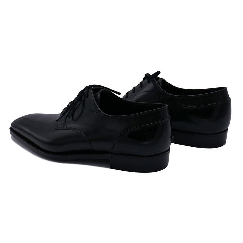 Classic Derby Shoe (Made-to-Order) - Onyx