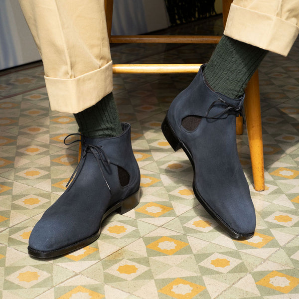 Decon Chelsea Boot (Made-to-Order) - Deep Lichen Green