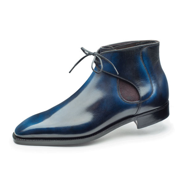 Men's leather Decon Chelsea Boot made in Spain available in Barcelona