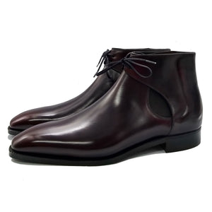 Decon Chelsea Boot - Coffee Brown Handmade Patina