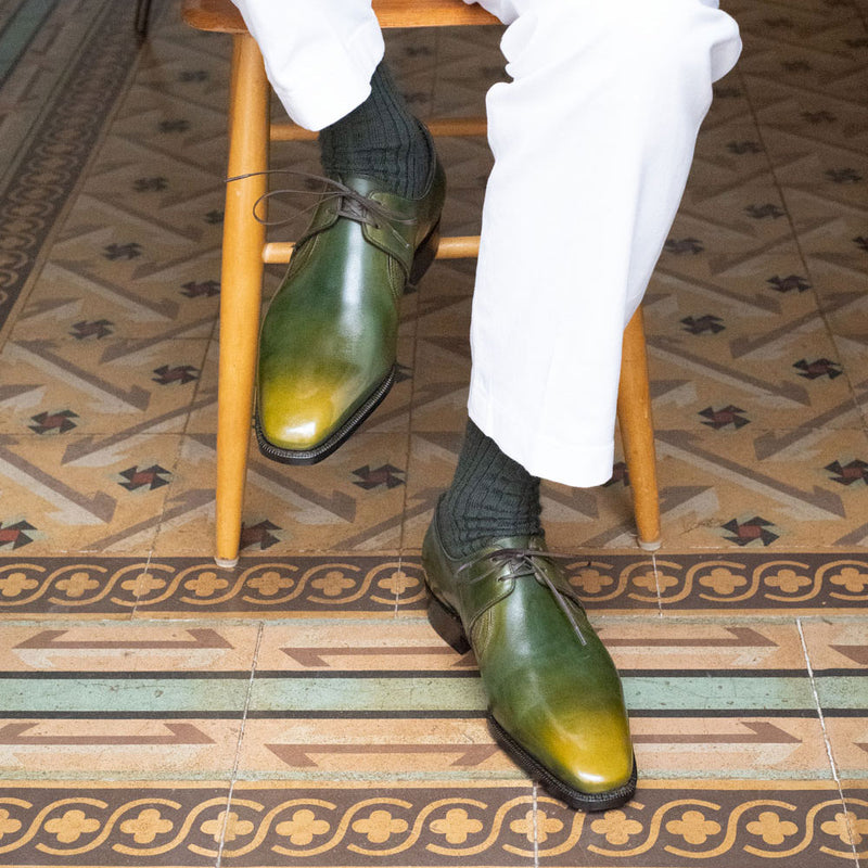 Westley Decon Derby Shoe - Rodin Handmade Patina