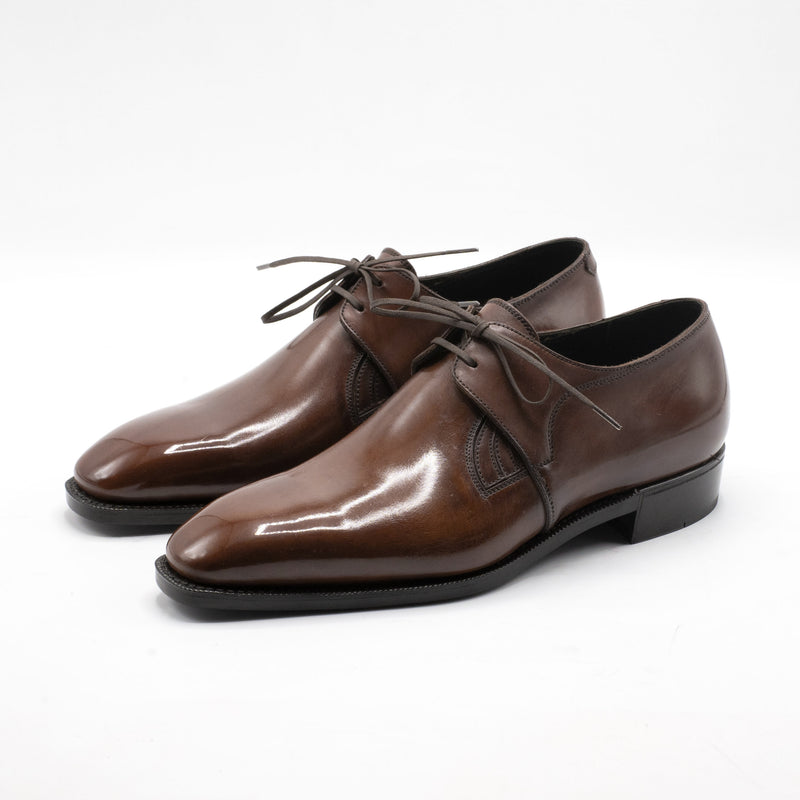 Westley Decon Derby Shoe - Chestnut Handmade Patina