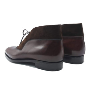 Decon Chukka Boot (Made-to-Order) - Coffee Brown