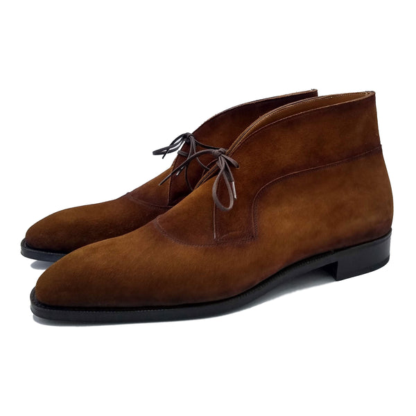 Decon Chukka Boot (Made-to-Order) - Tobacco Suede
