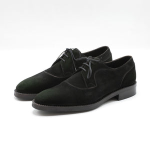 Decon Derby Shoe (Group-Made-to-Order) - Lichen Green Suede