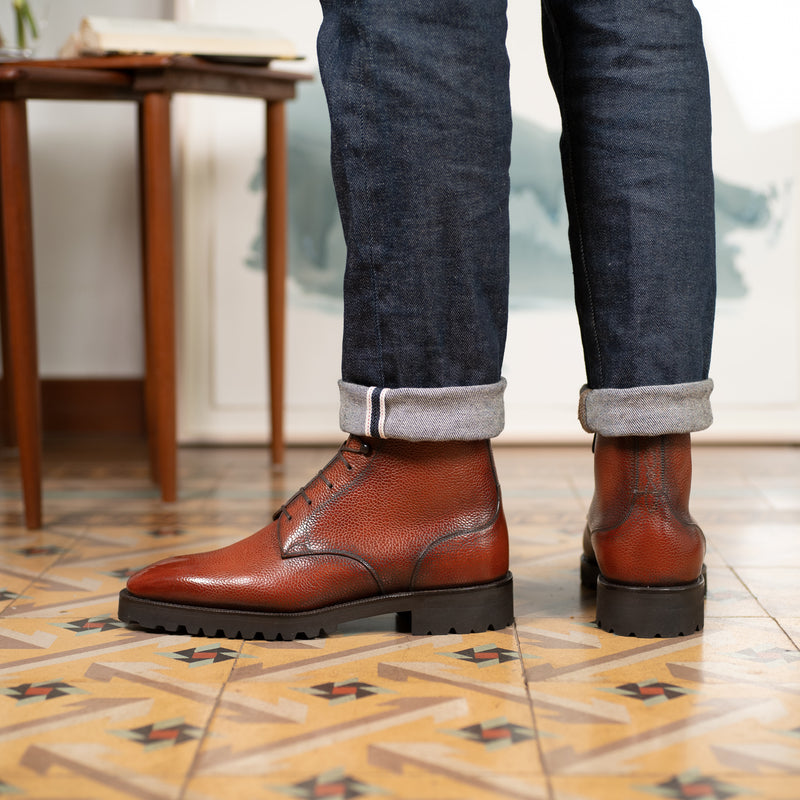 Derby Simple Boot by Norman Vilalta Bespoke Shoemakers