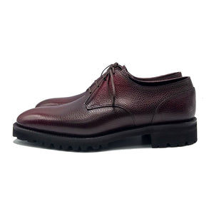 Men's leather derby shoe made in Spain