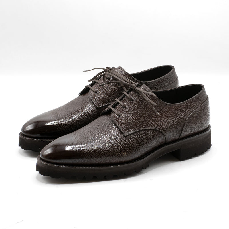 Derby Simple Shoe - Bister