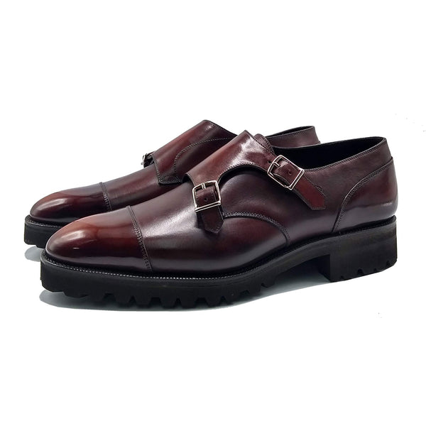 Double monk shoe by Norman Vilalta