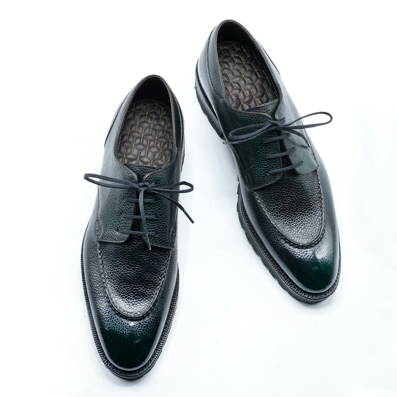 Gaspar U-tip Derby by Norman Vilalta Bespoke Shoemakers