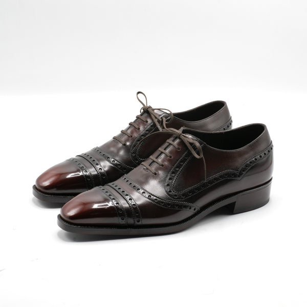 Inigo Balmoral Megabrogue by Norman Vilalta Bespoke Shoemakers