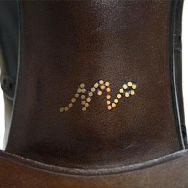 Shoe Customization - Brass Initialing