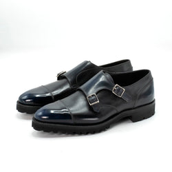 Joseph Cap Toe Double Monk Shoe by Norman Vilalta Bespoke Shoemakers