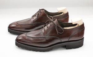Hand-stitched U-tip Derby - Degand Brown