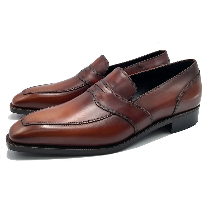 James Loafer (Made-to-Order) - Brown Handmade Patina