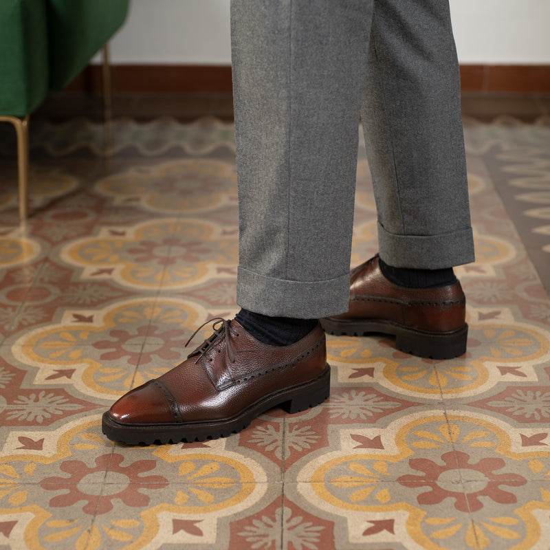 Luis Balmoral Derby Shoe by Norman Vilalta Bespoke Shoemakers