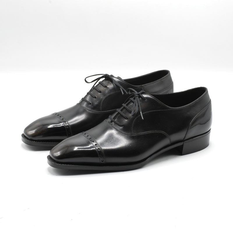 Mario Cap Toe Oxford Shoe by Norman Vilalta Bespoke Shoemakers