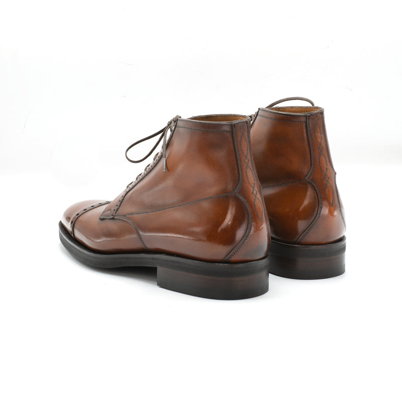 Cap Toe Derby Boot by Norman Vilalta Bespoke Shoemakers