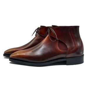 Decon Chelsea Boot - Brown Handmade Patina