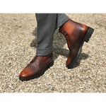 Men's derby boot made in Spain by Norman Vilalta